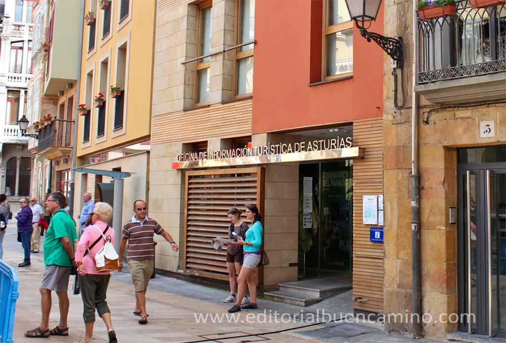 Gu a actualizada del camino de santiago albergues etapas for Oficina de turismo oviedo