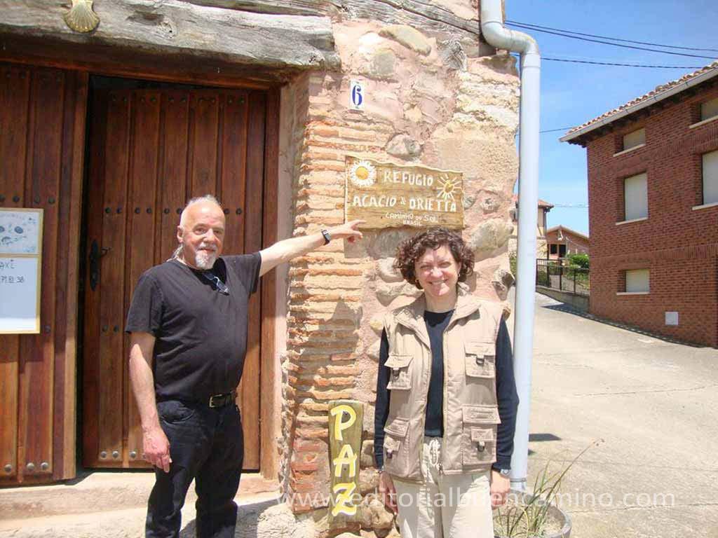 Albergue de peregrinos Acacio & Orietta