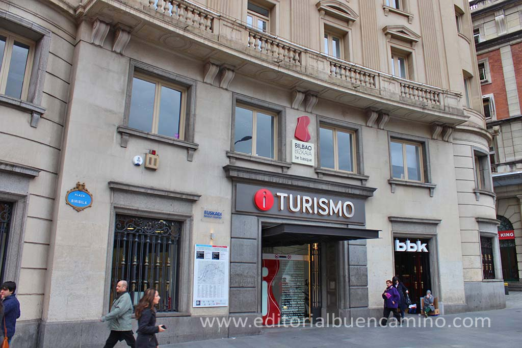 Bilbao camino de santiago gu a definitiva etapas for Oficinas turismo bilbao