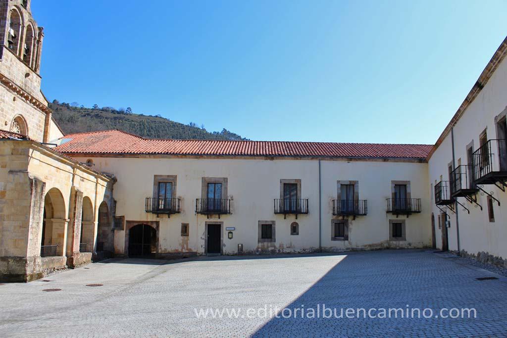 Albergue de peregrinos del Monasterio de Santa María de Valdediós