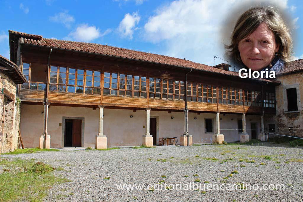 Albergue de peregrinos en el monasterio de Cornellana
