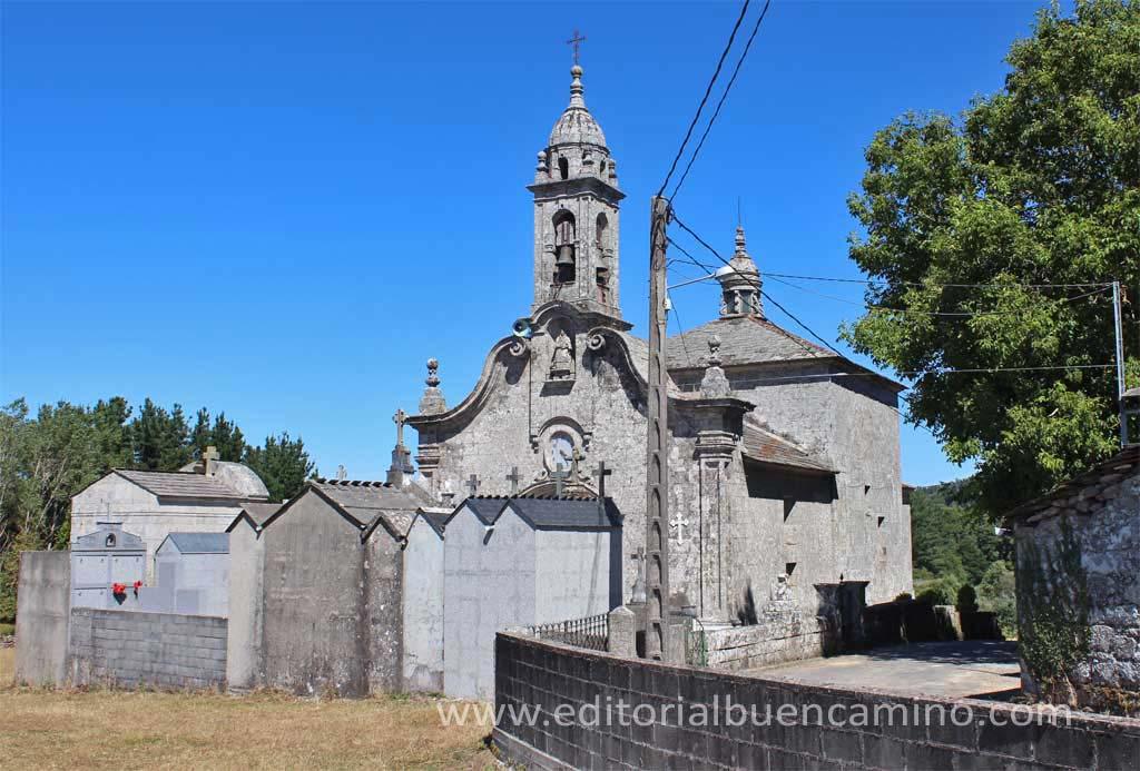 Iglesia de San Vicente do Burgo