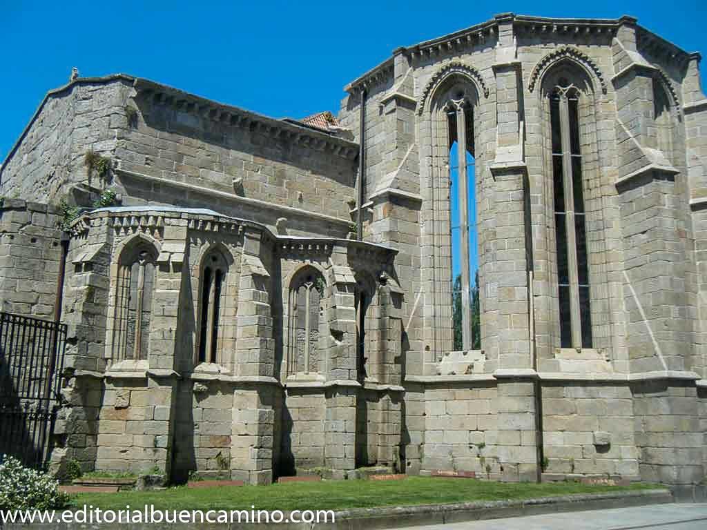 Ruinas de la iglesia  de Santo Domingo