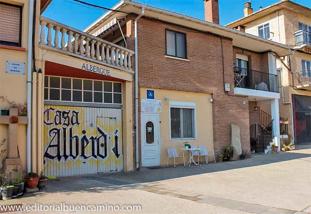 Albergue de peregrinos Casa Alberdi