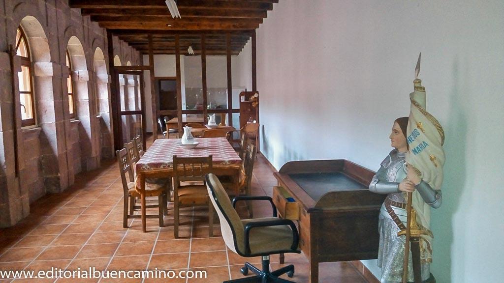 Albergue de peregrinos en el Monasterio de Urdax