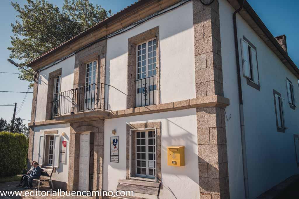 Albergue de peregrinos de Santa Irene de la Xunta de Galicia
