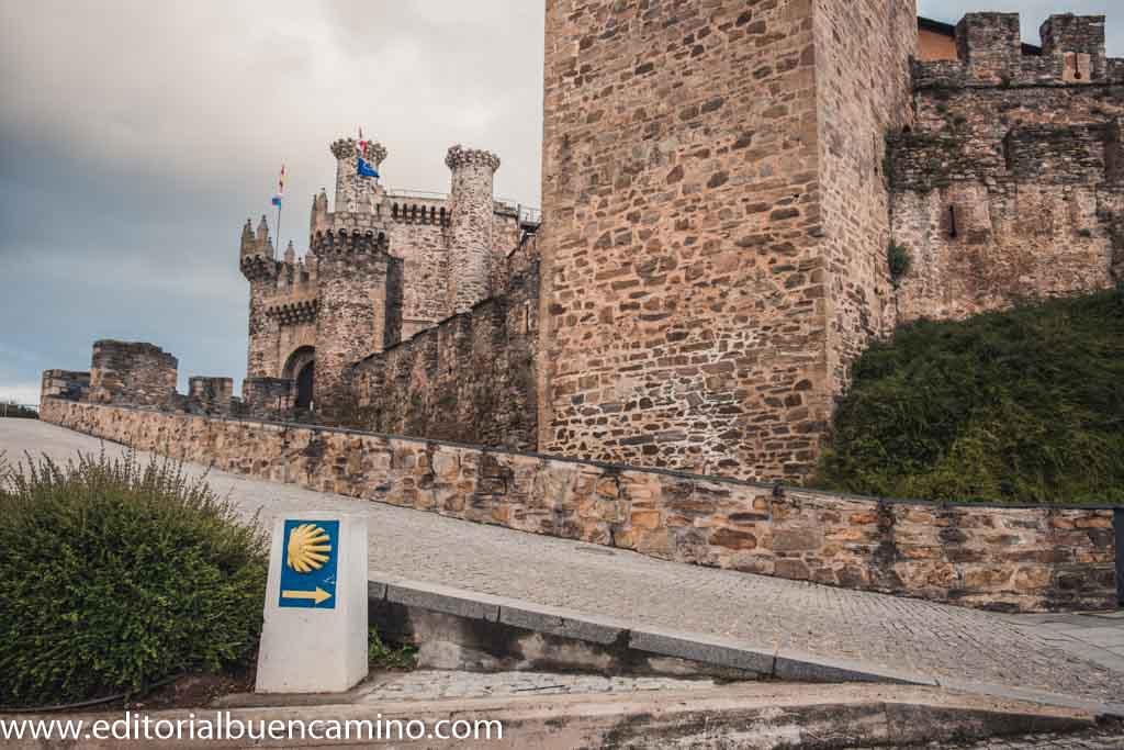Castillo templario de Ponferrada.