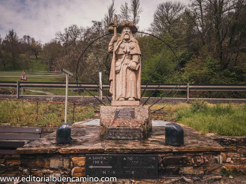 Estatua del Apóstol Santiago