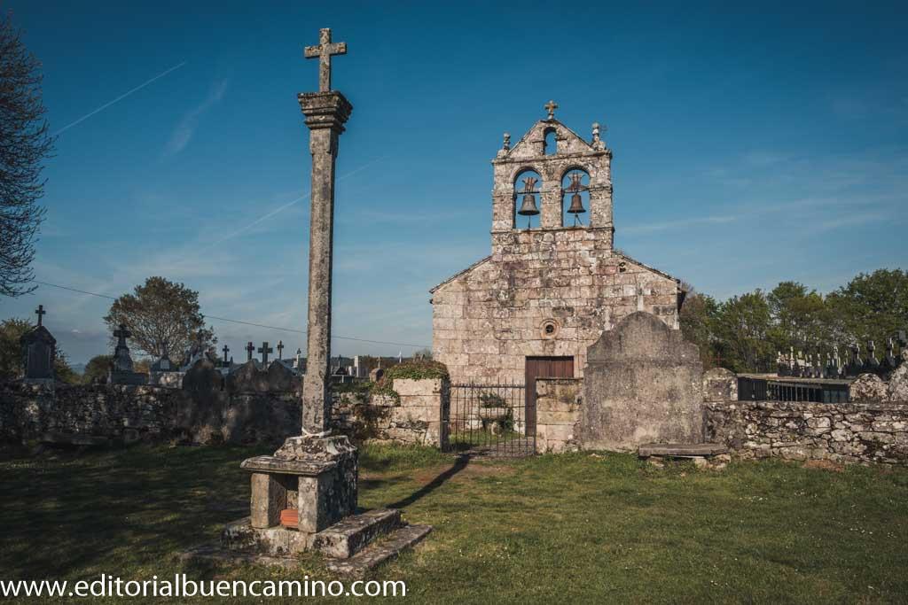 Iglesia de Santiago en Lestedo.
