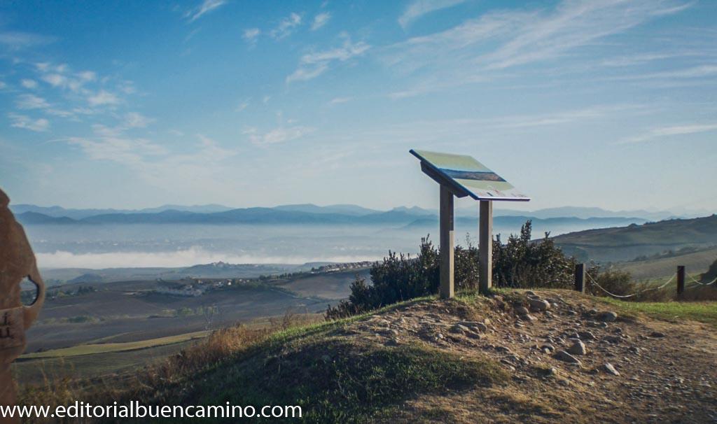 Vista de la Cuenca de Pamplona