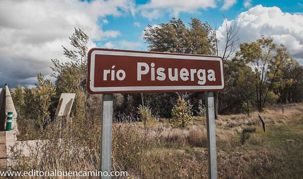 Río Pisuerga. Límite Burgos Palencia