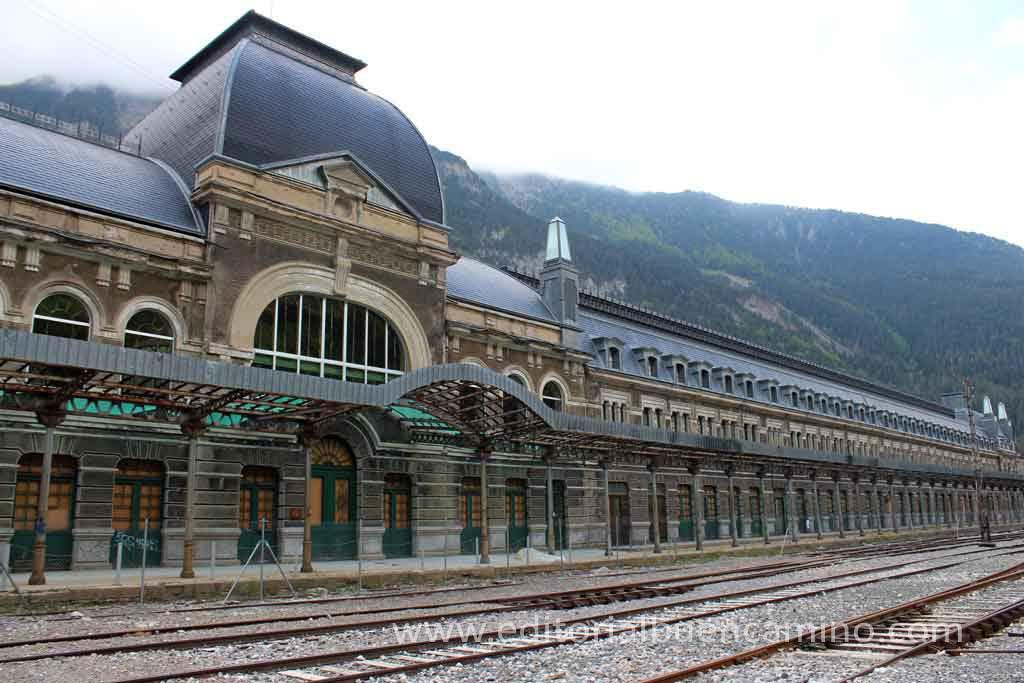 Estación Internacional de Canfranc.