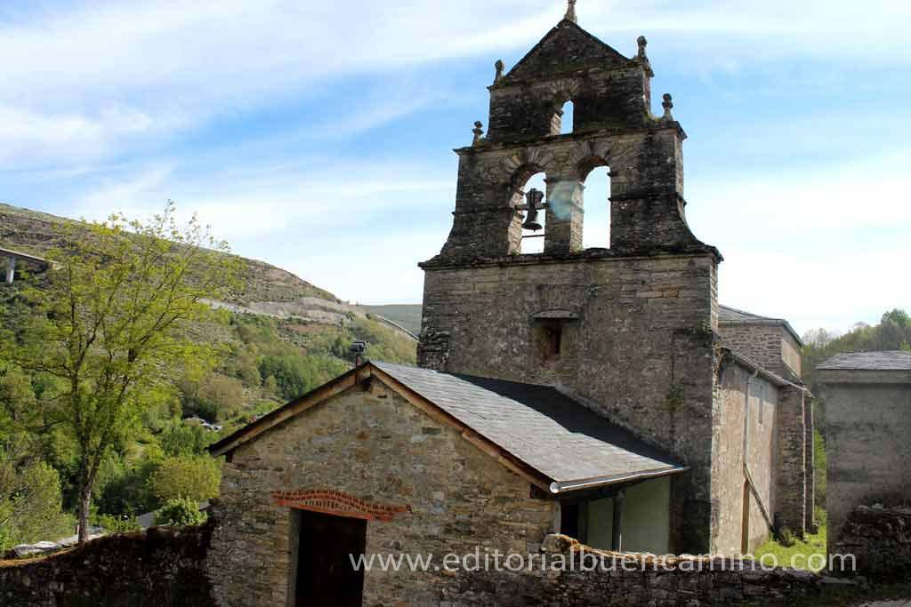 Iglesia de San Julián en Las Herrerías.