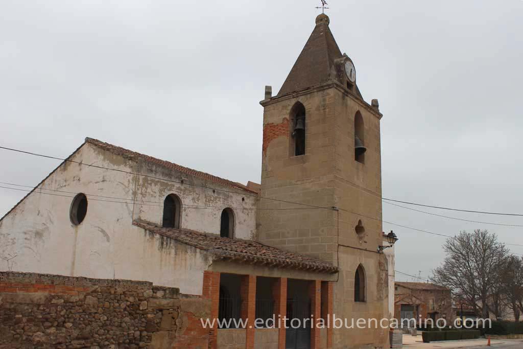 Iglesia parroquial de San Andrés en Cirueña.