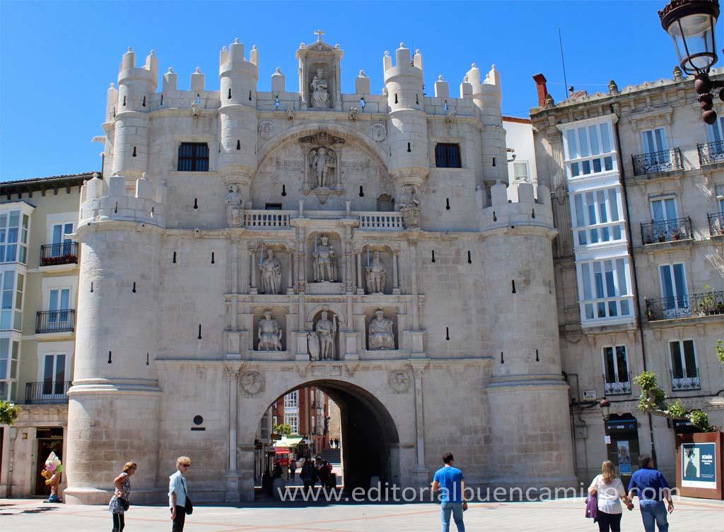 Arco de Santa María de Burgos.