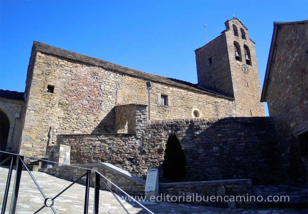 Iglesia de San Miguel en Castiello de Jaca.