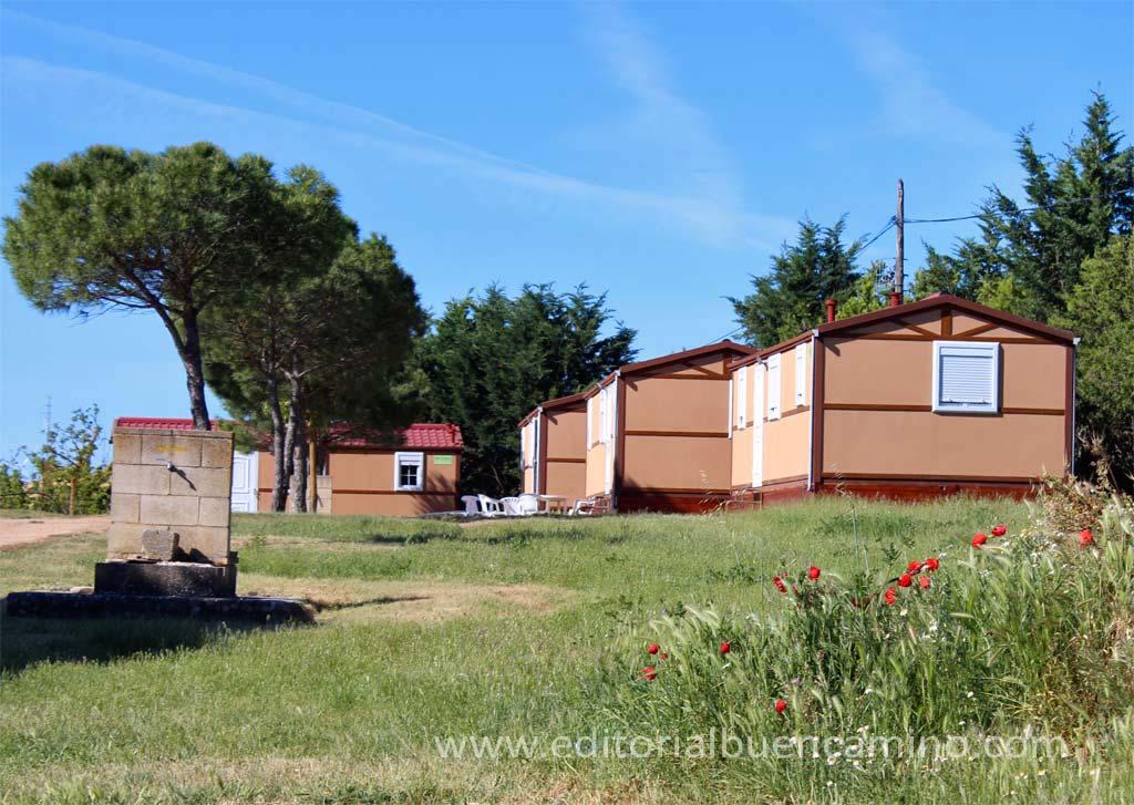 Albergue de peregrinos en el Camping de Castrojeriz