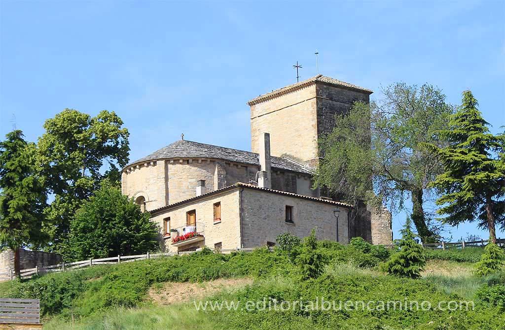 Iglesia de San Emeterio y San Celedonio de Cizur Menor.