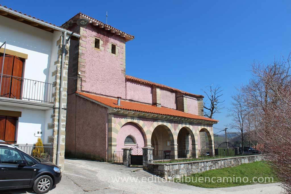 Iglesia de San Saturnino de Linzoáin