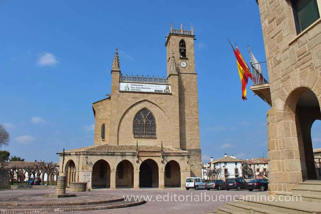 Parroquia de San Juan Bautista de Obanos.