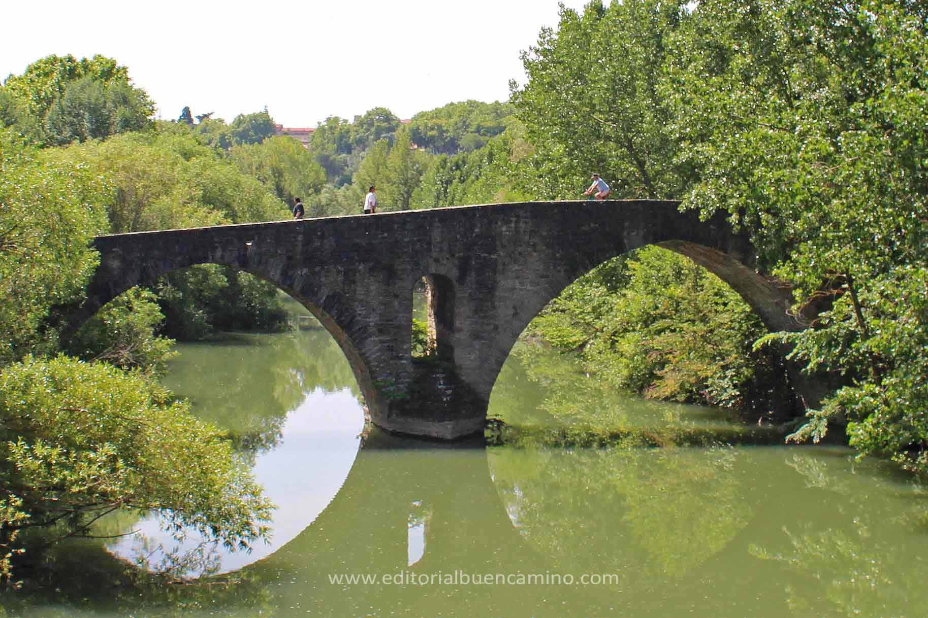 Puente de la Magdalena de Pamplona.