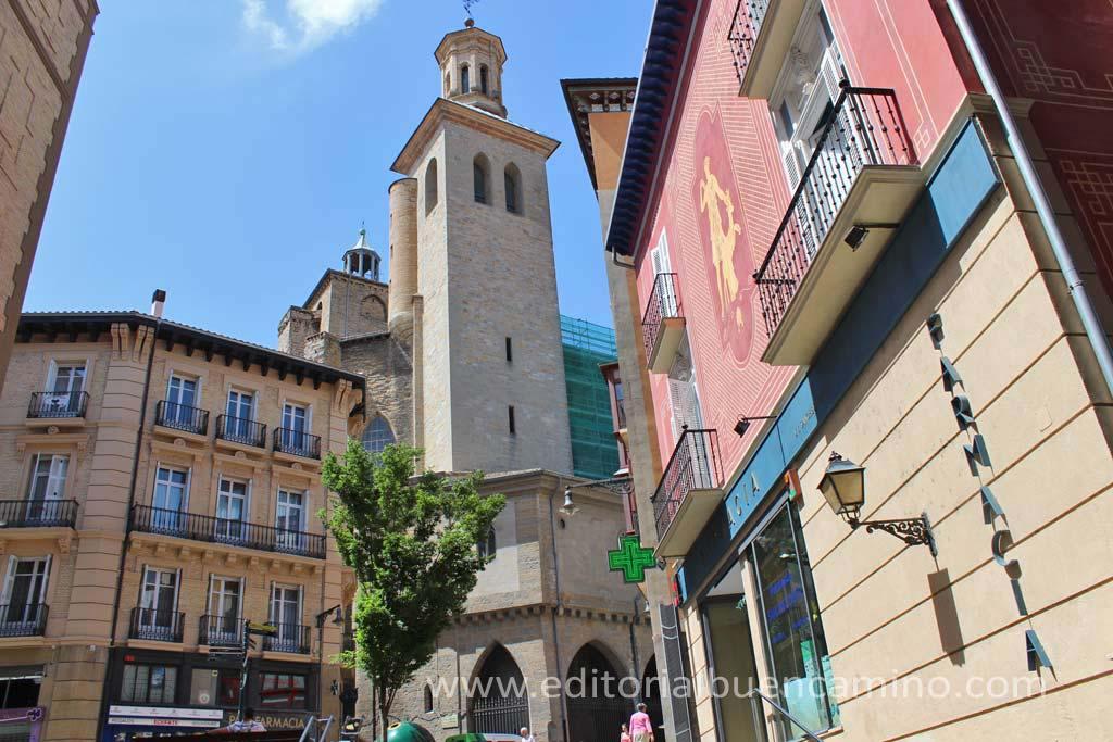 Iglesia de San Saturnino de Pamplona.
