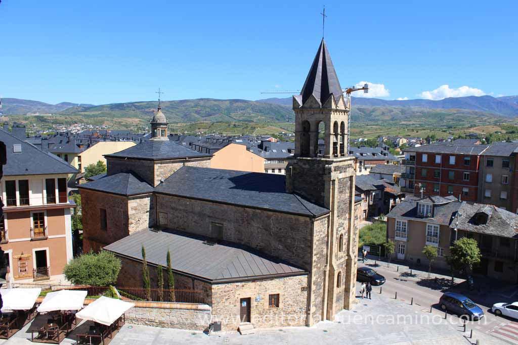 Basílica de la Encina de Ponferrada.