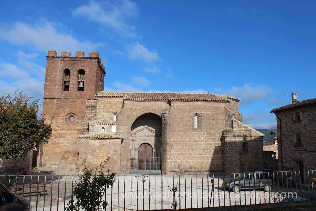 Iglesia Parroquial de San Martín de Tours de Undués de Lerda.