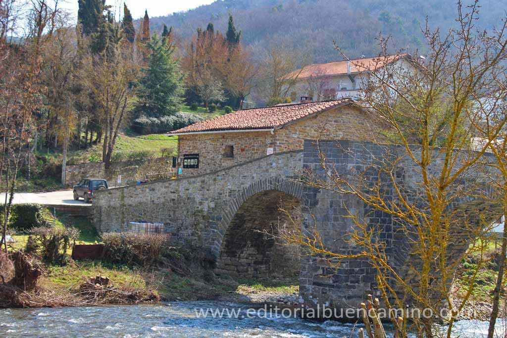 El puente de la rabia de Zubiri